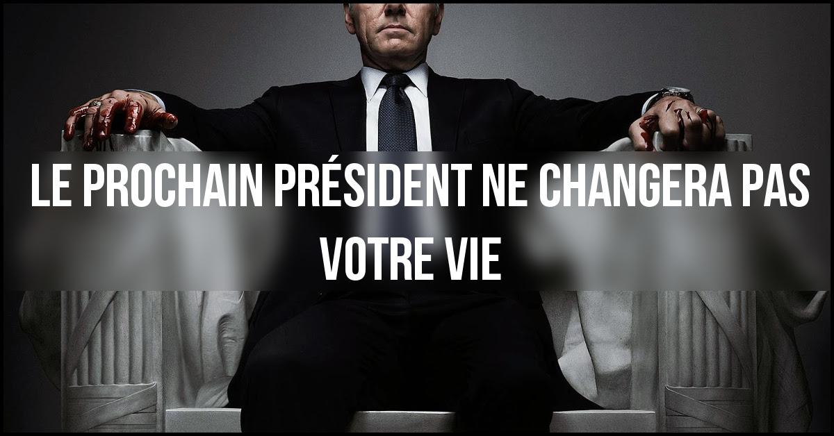 le prochain président
